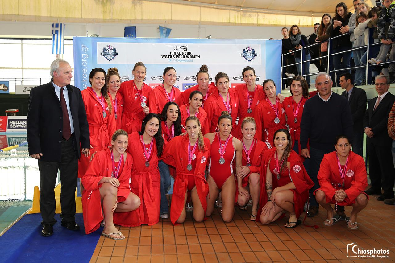 Ομάδα υδατοσφαίρισης γυναικών