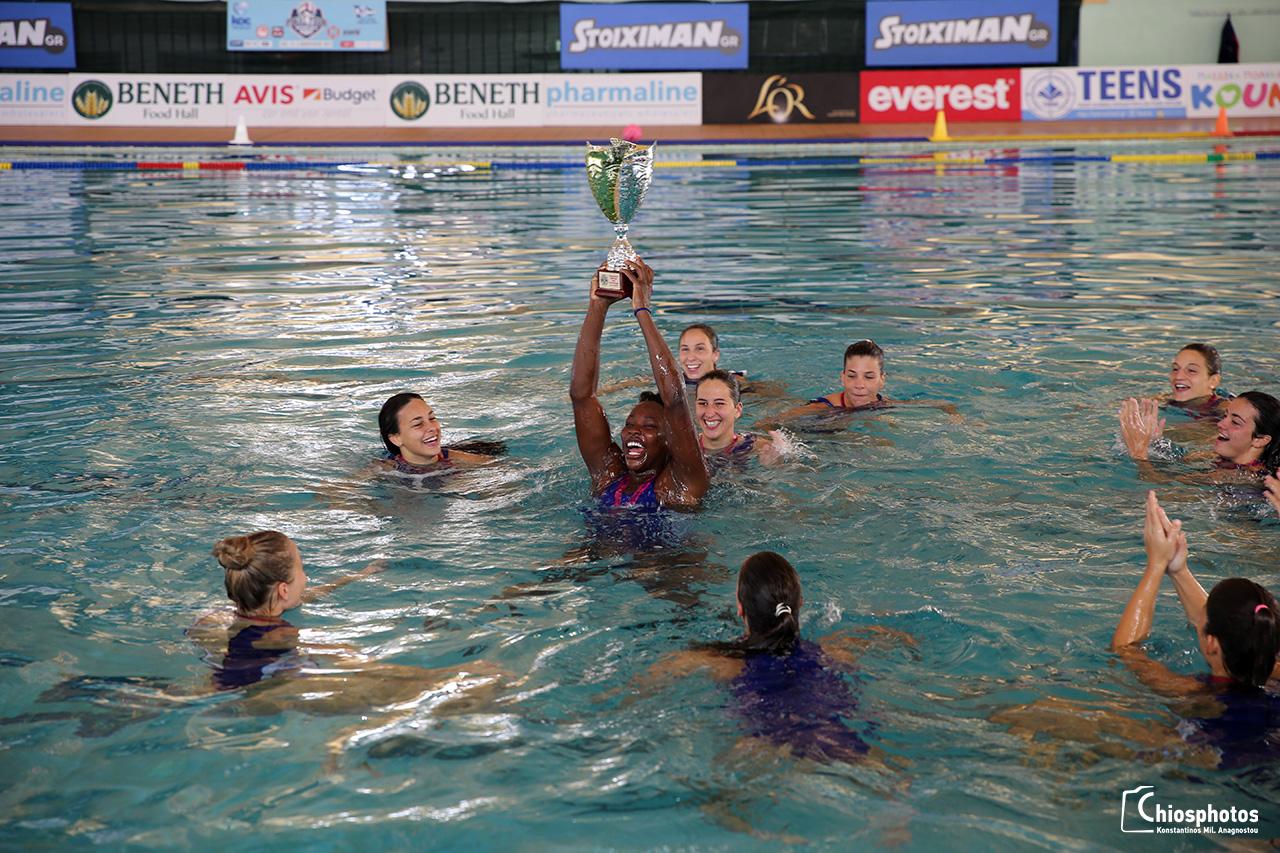 Κυπελλούχος Ελλάδας υδατοσφαίρισης γυναικών