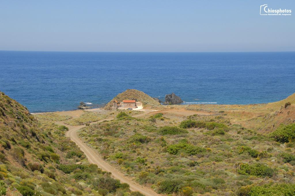 Παραλία Άγιος Γεώργιος Κρασσάς Χίος