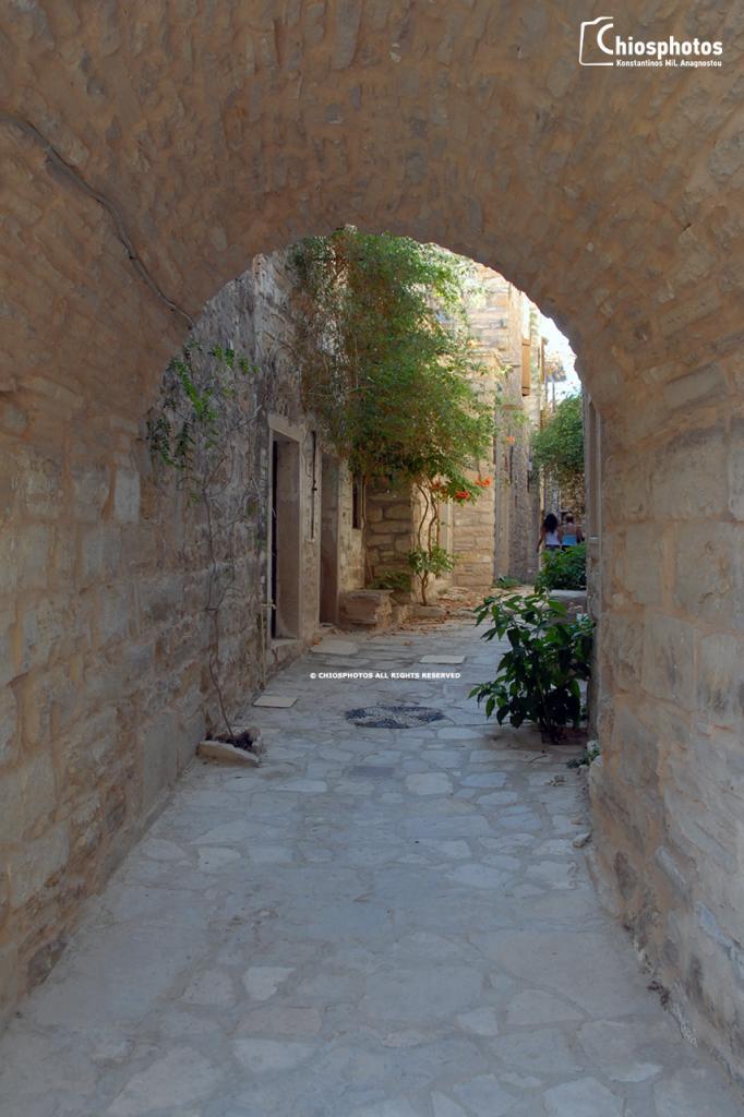 Μεσαιωνικό χωριό Πατρικά Χίος