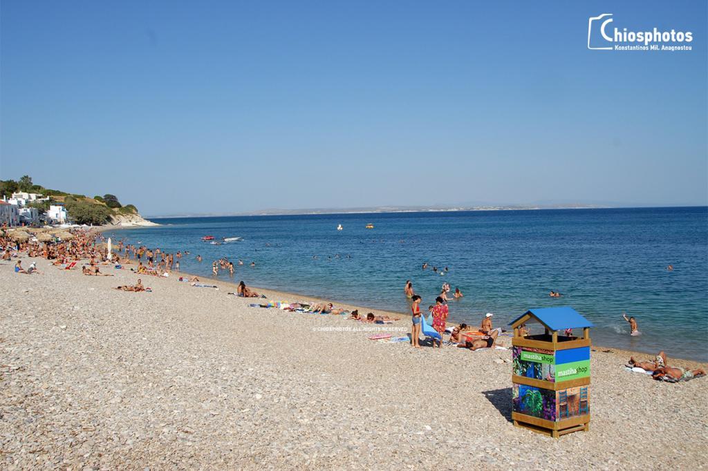 Παραλία Αγία Φωτιά Χίος