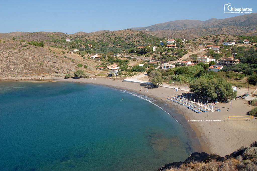 Παραλία Λευκάθια Χίος