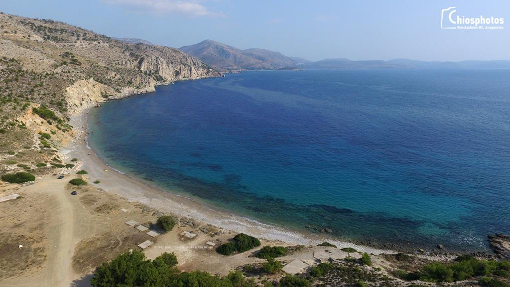 Παραλία Μακριά άμμος Χίος