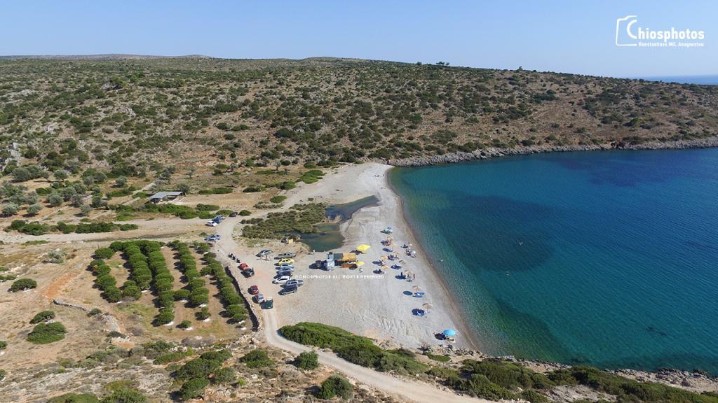Παραλία Σαλάγωνα Χίος
