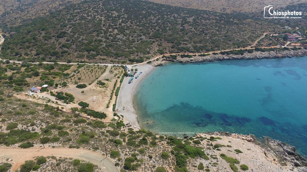 Παραλία Καρίντα Χίος