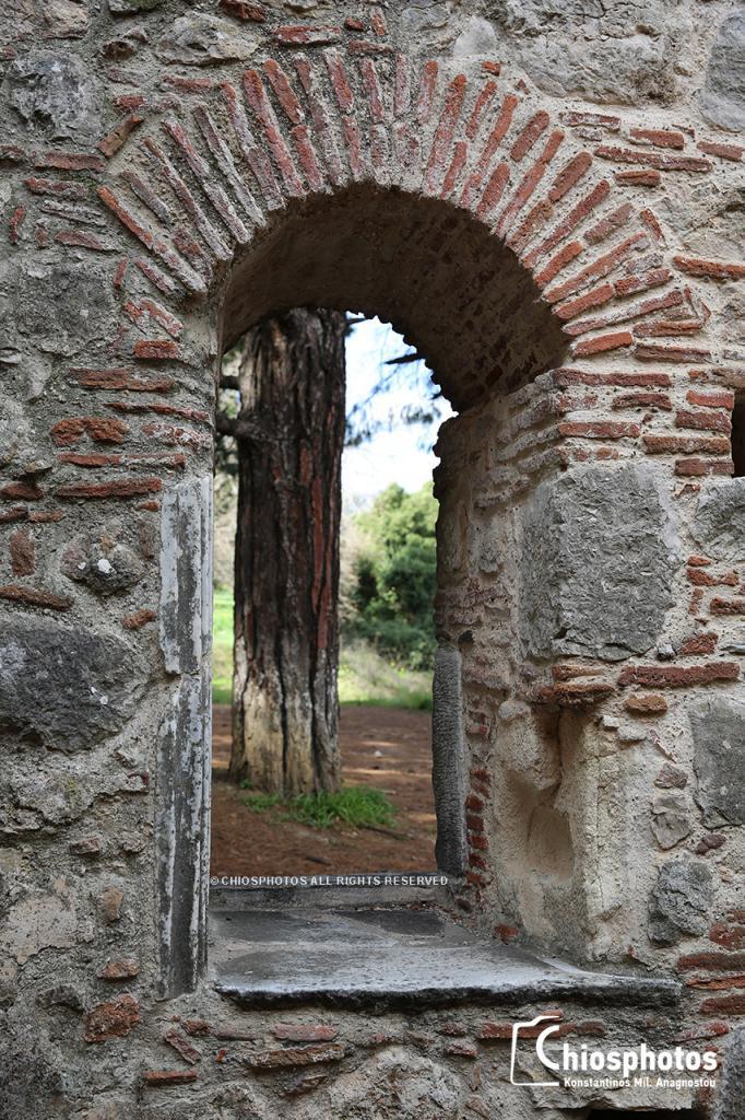 Βυζαντινός ναός Παναγίας Κρήνας Χίος