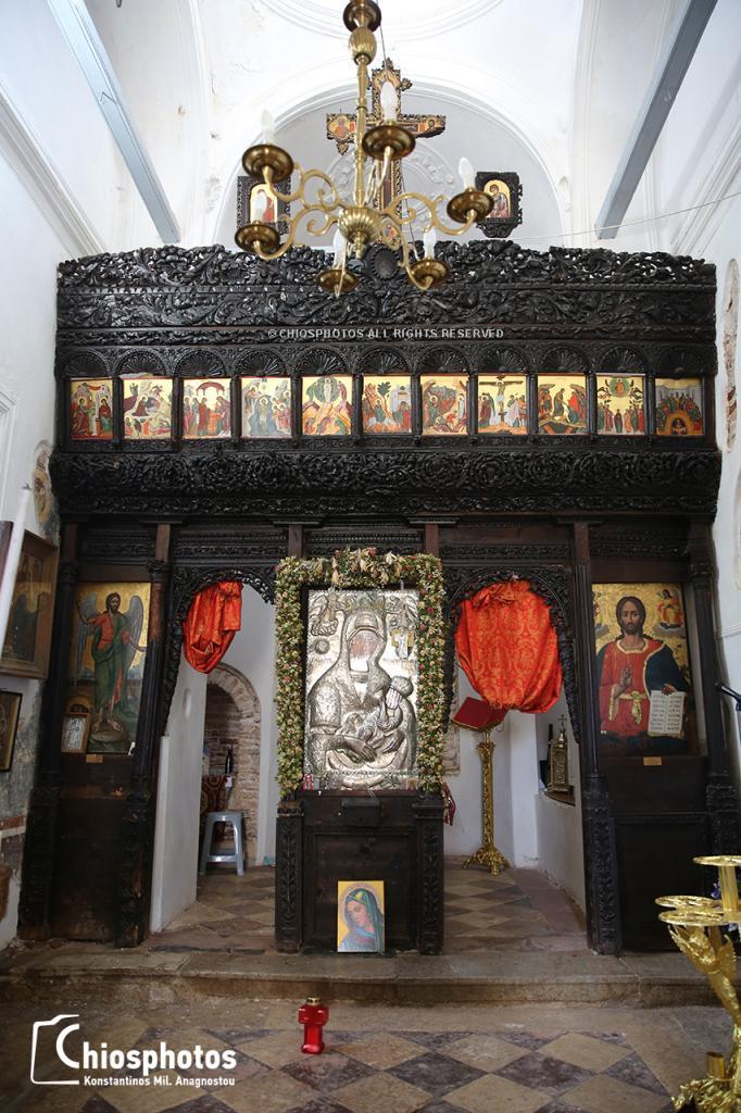 Μονή Παναγίας Σικελιάς Χίος