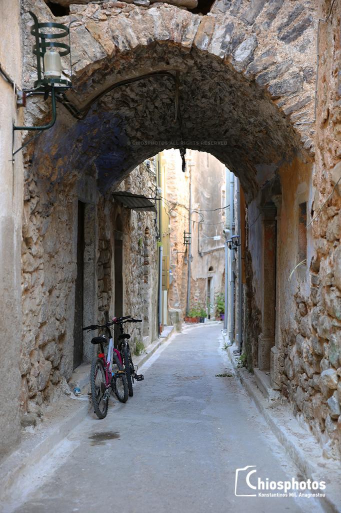 Μεσαιωνικό χωριό Ολύμποι Χίος