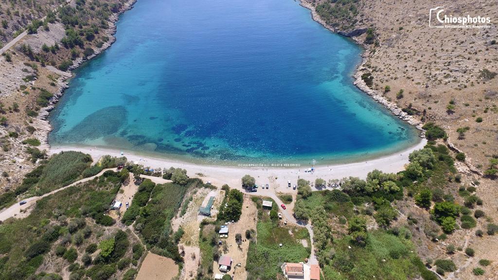 Παραλία Ελίντα Χίος