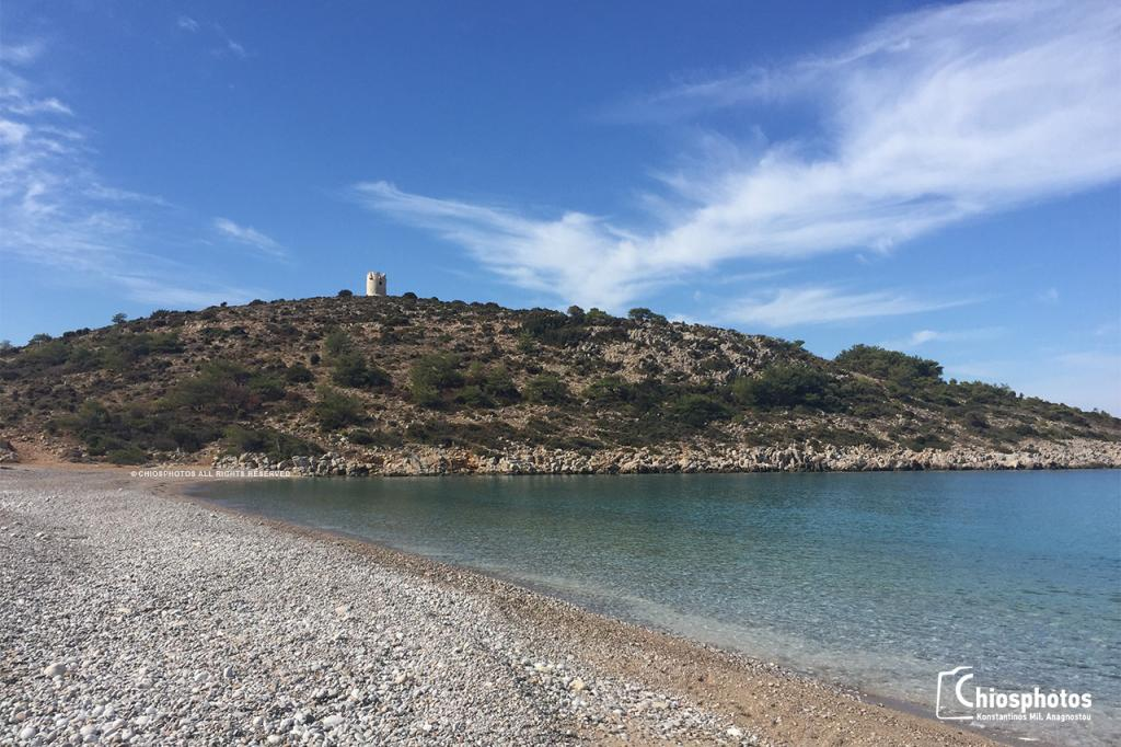 Παραλία Τραχήλι Χίος