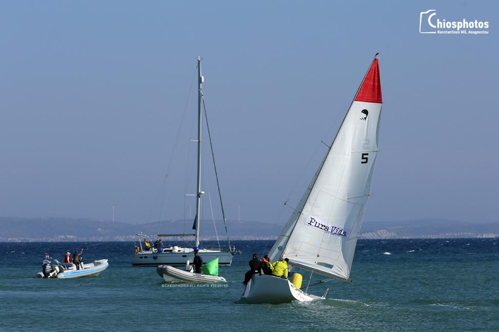 Chios match race - Platu 25