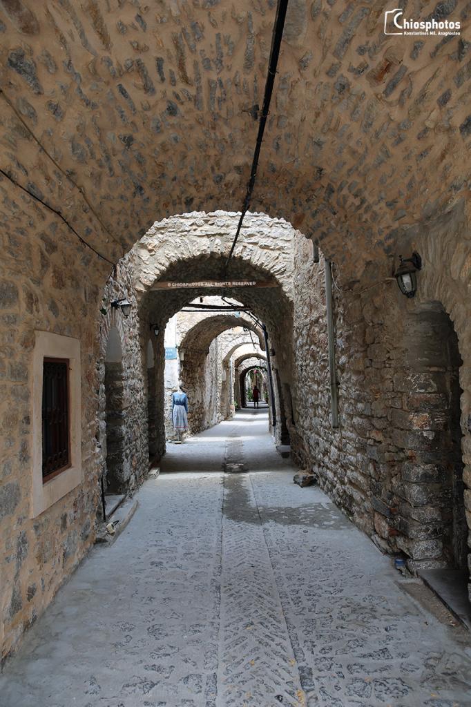 Μεσαιωνικό χωριό Μεστά Χίος
