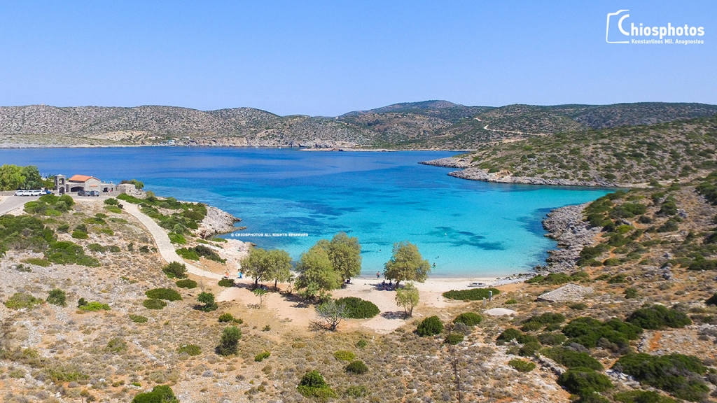 Παραλία Αγία Δύναμη Χίος
