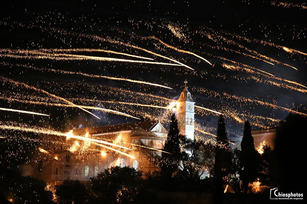 Έθιμο Ρουκετοπόλεμου Χίος