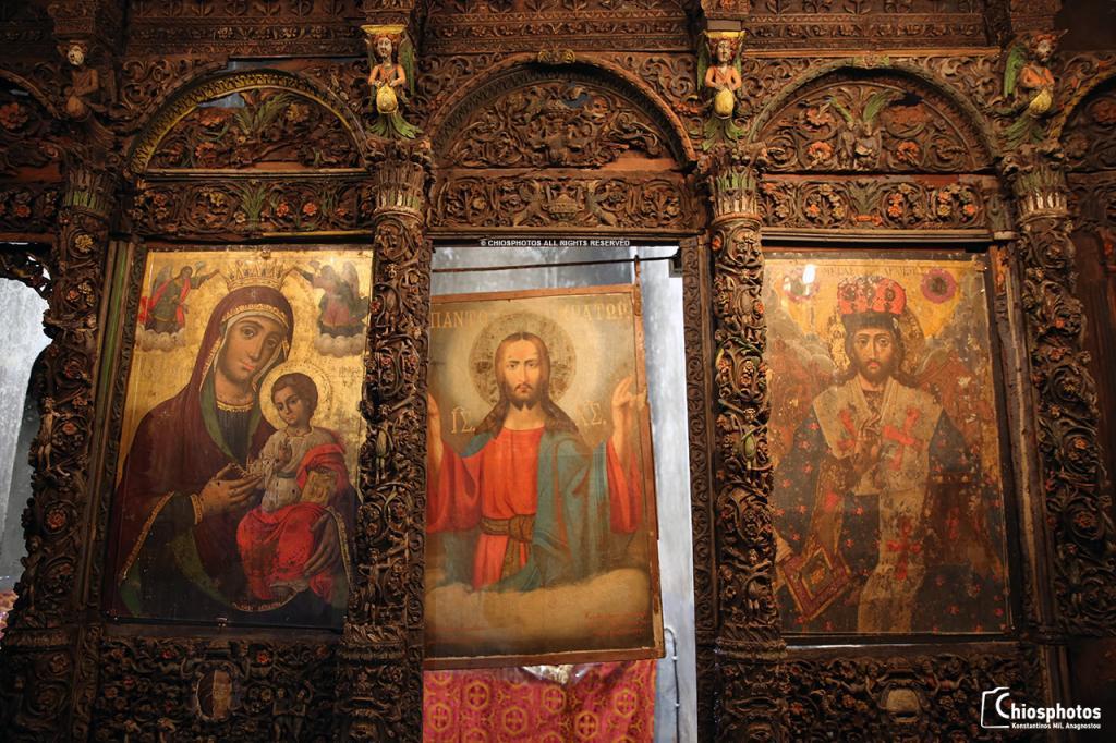 Τέμπλο Παναγίας Αγιογαλούσαινας