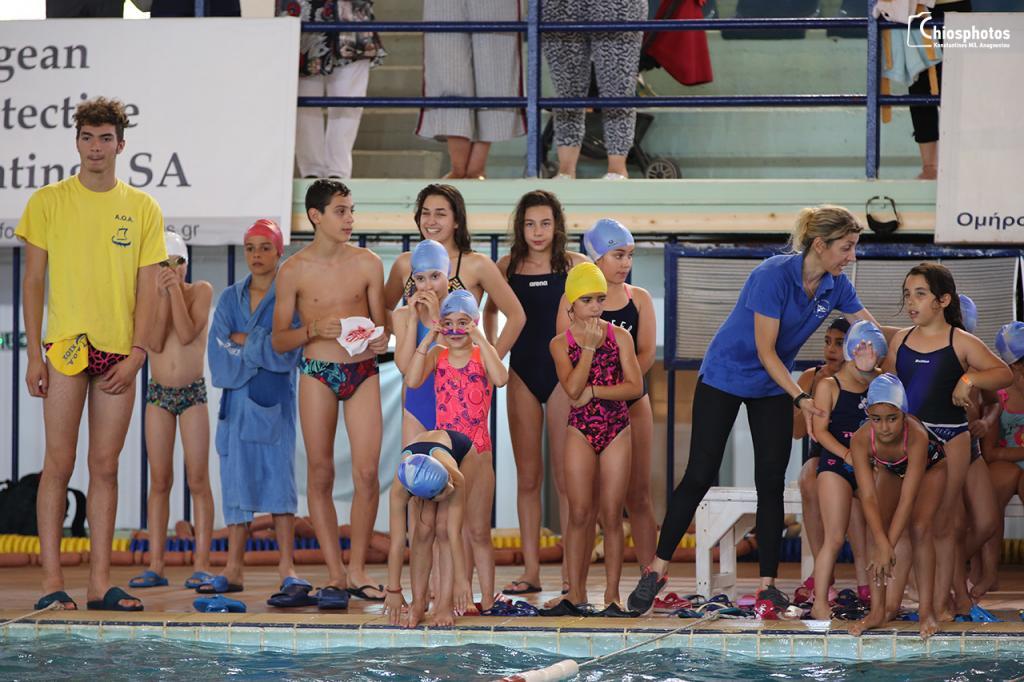 Αγώνες - παιχνίδια κολύμβησης