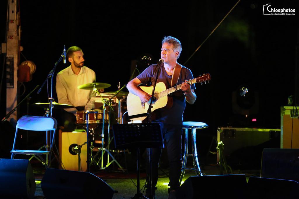 Συναυλία Θαλασσινού - Σκουλά Καρδάμυλα Χίου