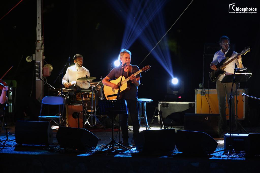 Συναυλία Θαλασσινού - Σκουλά Καρδάμυλα Χίος