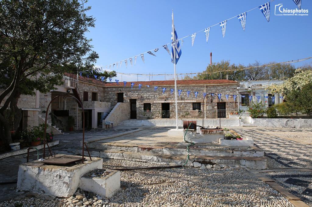 Μονή Αγίου Μηνά Χίος
