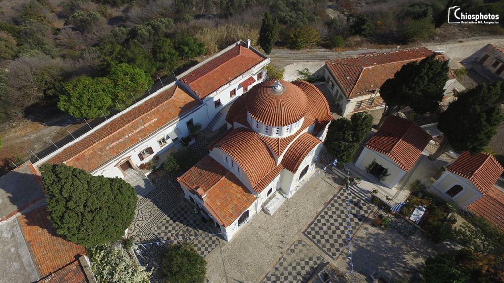 Μονή Αγίου Μηνά Χίου