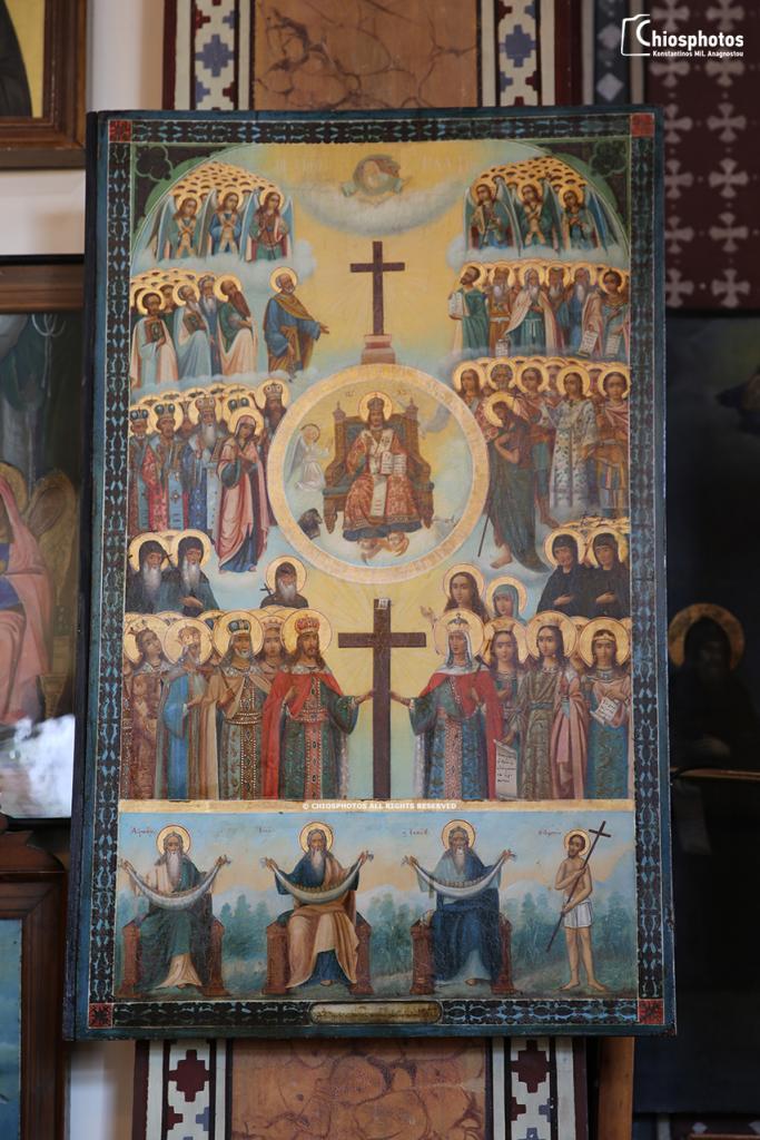 Μοναστήρι Αγίου Μηνά Χίου