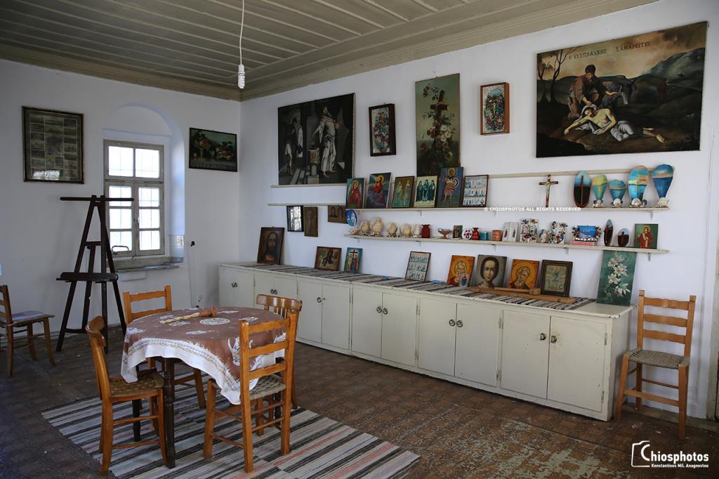 Μοναστήρι Αγίου Μηνά Χίος