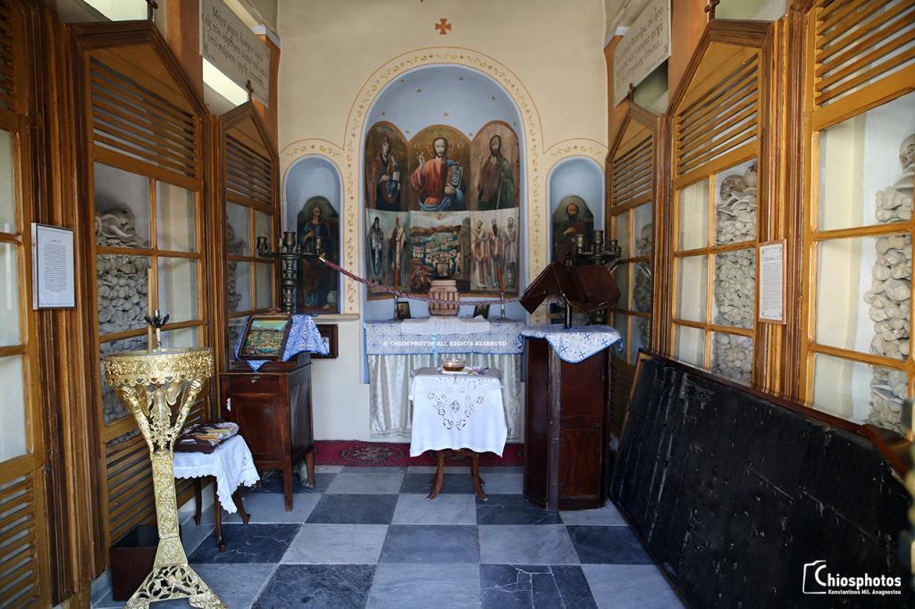 Μοναστήρι Άγιος Μηνάς Χίος