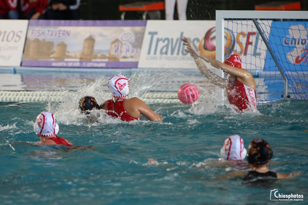 Ημιτελικός Final 4 κυπέλλου υδατοσφαίρισης Γυναικών