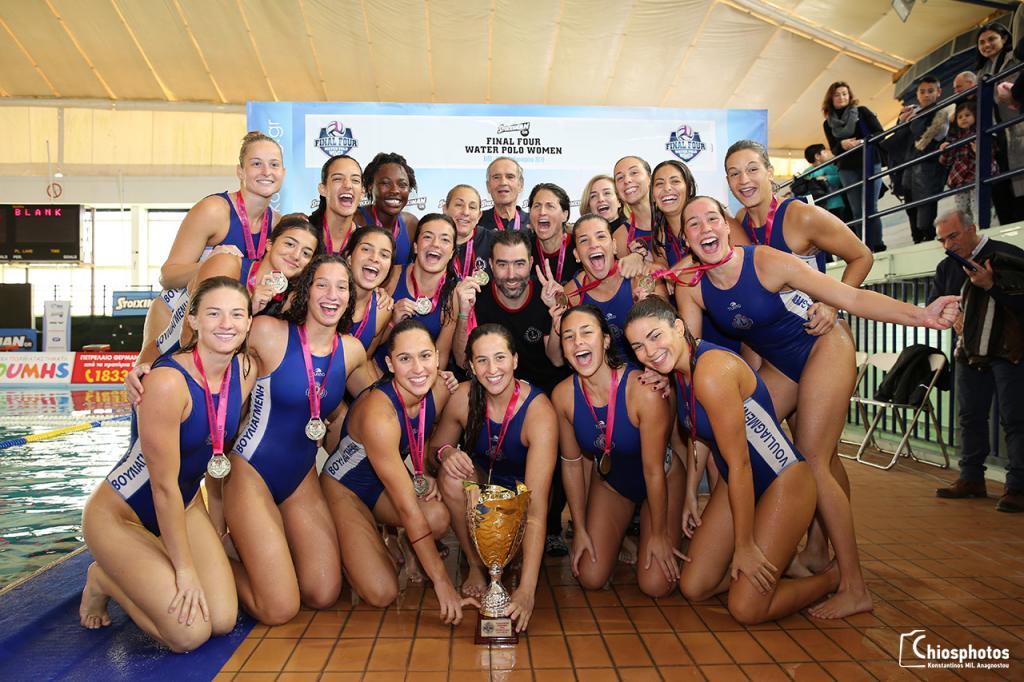 Κυπελλούχος υδατοσφαίρισης γυναικών 2018-19