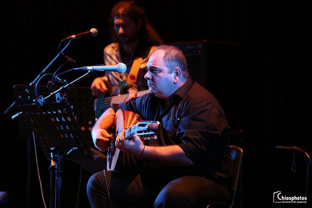Συναυλία Παντελή Θαλασσινού στο Ομήρειο Π.Κ.Δ. Χίου