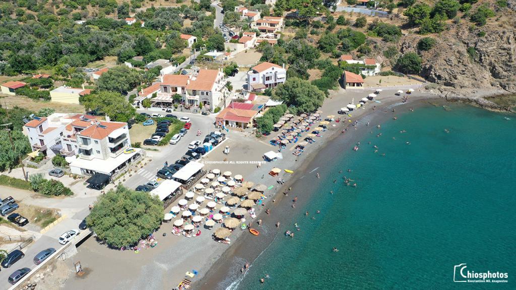 Παραλία Λήμνος Χίος