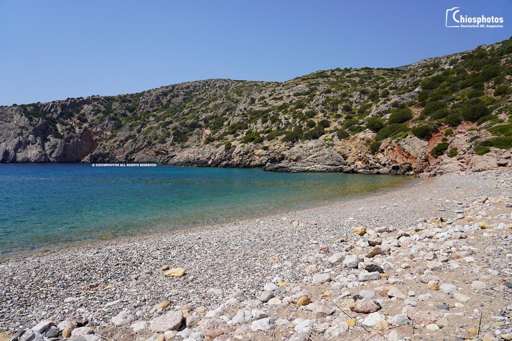 Παραλία Αυλωνιά Πυργί Χίος
