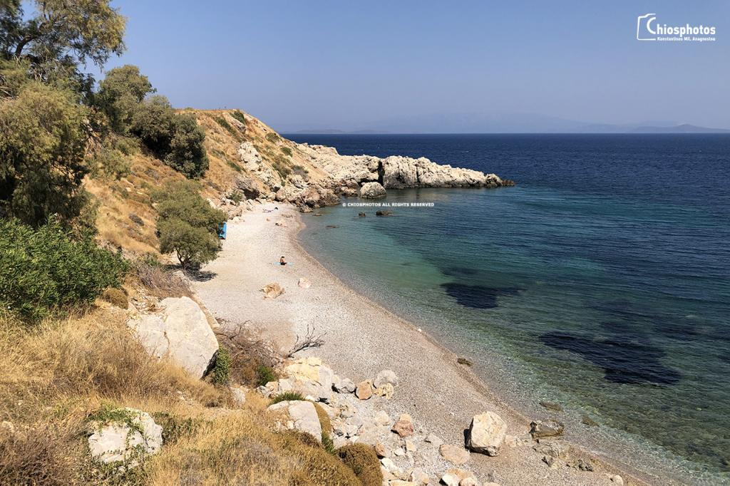 Παραλία Μυρσινίδι Χίος