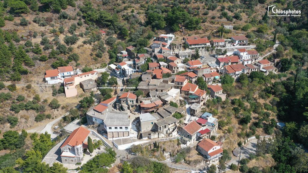 Χωριό Λεπτόποδα Χίος
