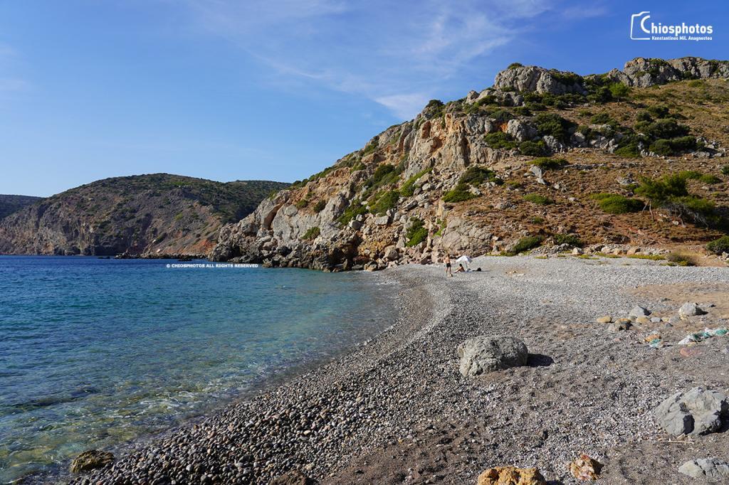 Παραλία Αγελή Χίος