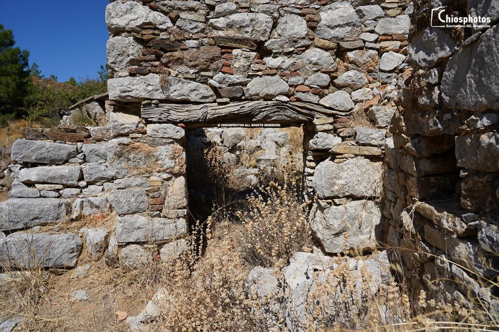 Εγκαταλελειμμένος οικισμός Καμπιών Χίου