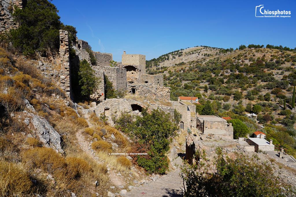 Μεσαιωνικό χωριό Ανάβατος Χίος