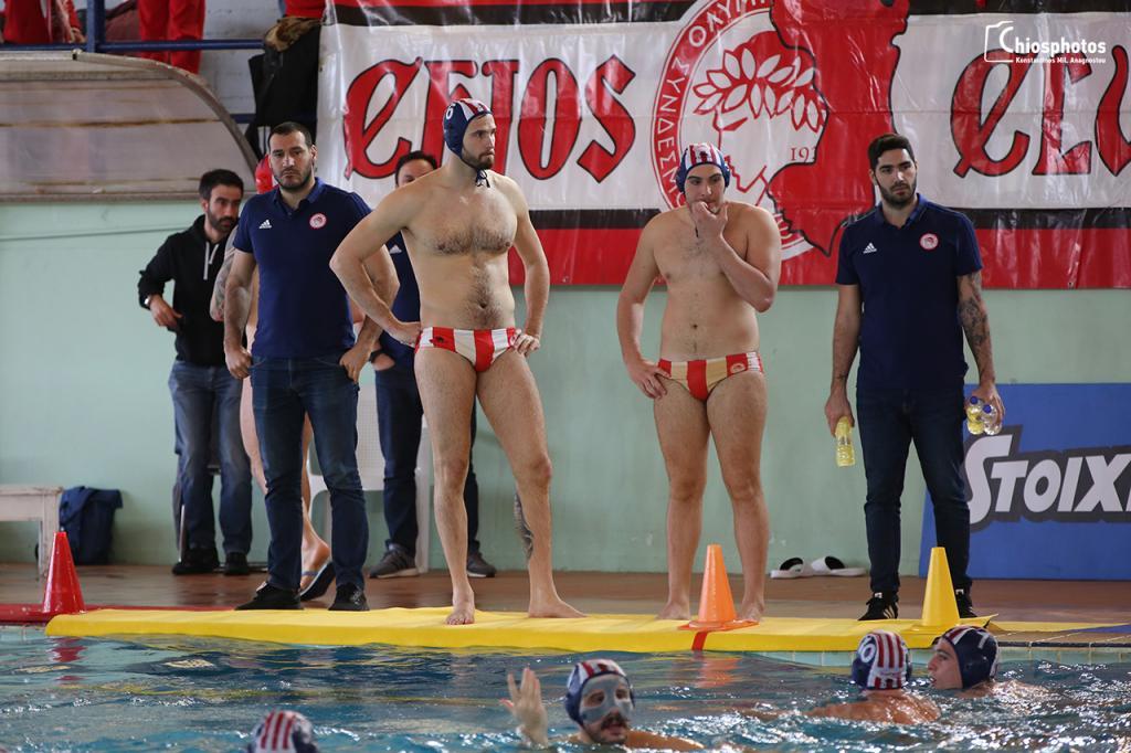 Τελικός Final 4 κυπέλλου πόλο Ανδρών