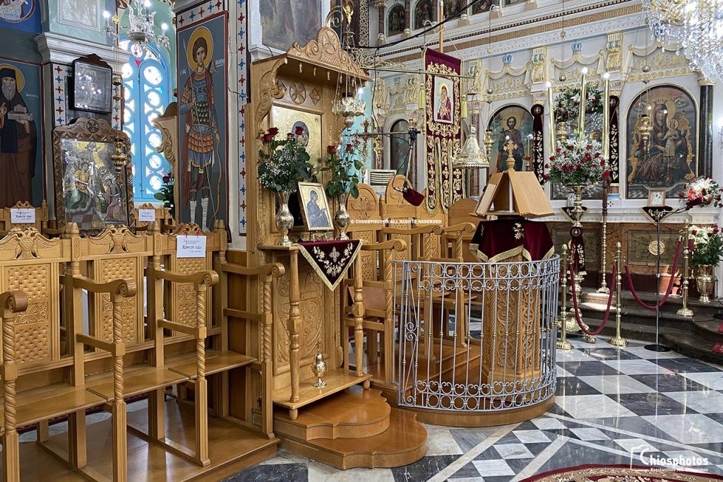 Εκκλησία Αγίας Τριάδας Ελάτα Χίος