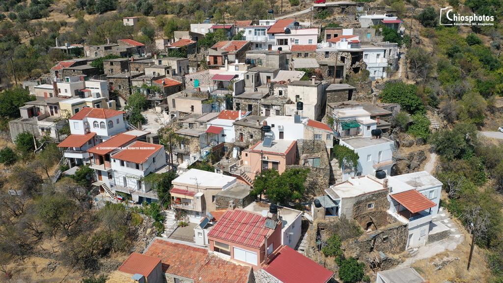 Χωριό Τρύπες Χίος