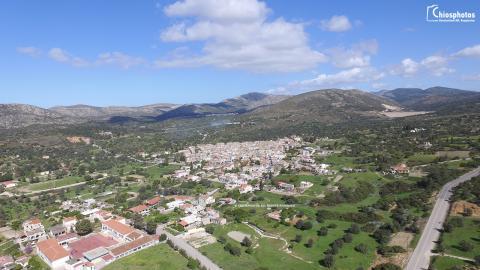 Μεσαιωνικό χωριό Καλαμωτή Χίος