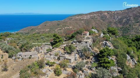 Εγκαταλελειμμένος οικισμός Καμπιών